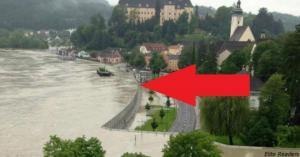 ავსტრიაში საშინელი წყალდიდობა დაიწყო. მაგრამ, აი როგორ შეაჩერეს ის.