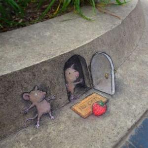 თაგუნიების ქუჩის ცხოვრება - ფანტაზია და მარჯვე ხელები