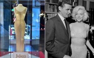 რატომ შემოაკერეს მერლინ მონროს ტანზე ლეგენდარული კაბა, რომელიც პრეზიდენტ კენედის დაბადების დღეზე ეცვა?