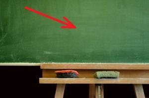 რატომ არის სკოლის დაფა მწვანე ფერის - დაფიქრებულხართ?