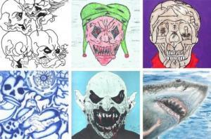 სერიული მკვლელების  ნახატები, რომლებიც გაგაოცებთ
