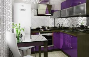 """როგორ ვაქციოთ """"ხრუშოვკის"""" სამზარეულო კომფორტულ ადგილად - იდეები 1 და 2- ოთახიანი ბინებისთვის"""