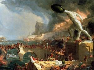შეუძლებელია დიდი ცივილიზაცია გარედან განადგურდეს, თუ მან საკუთარი თავი შიგნიდან არ გაანადგურა