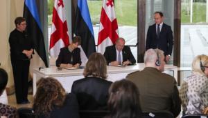 """""""კარგ მთქმელს კარგი გამგონე უნდაო"""" - ესტონეთის რესპუბლიკის პრეზიდენტი, ქ–ნმა კერსტი კალიულაიდი საქართველოში"""