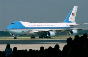 აშშ–ს პრეზიდენტის თვითმფრინავის კონტროლი