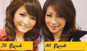 აი, რატომ გამოიყურება იაპონელი ქალები უფრო ახალგაზრდულად -8 რჩევა