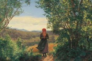 1860-იანი წლების ნახატზე გოგოს  ხელში  iPhone უჭირავს?
