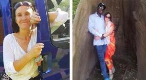 """44 წლის ბრიტანელმა ქალმა მიატოვა ქმარი,9 შვილი და აფრიკაში 30 წლის კაცს ჩააკითხა,რომელიც """"ფეისბუქით"""" გაიცნო"""