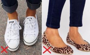 ფეხსაცმლის 5 მოდელი, რომელიც წელს მოდაში აღარ არის - ეს ბევრმა არ იცის!