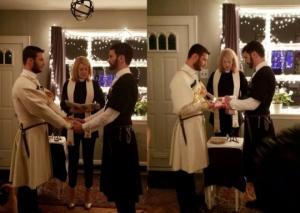 პირველი გეი ქორწინება ჩოხებში - ქართველმა ბიჭებმა იქორწინეს