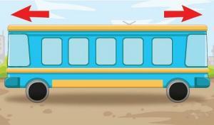 რომელ მხარეს მიდის ავტობუსი- თავსატეხი, რომელიც ბავშვებმა უფრო ადვილად ამოხსნეს
