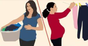 რას უნდა მოერიდონ ორსული ქალები სახლში საქმიანობისას