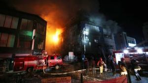 დღეს ხანძარს ფიტნესცენტრში 28 ადამიანი ემსხვერპლა