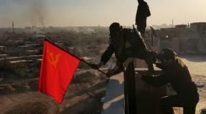 სირიაში საბჭოთა კავშირის დროშა აღმართეს