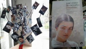 ლიკა ქავჟარაძის ხე და მისი ფოტო პორტუგალიური წიგნის გარეკანზე