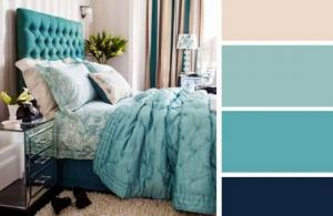 ფერთა 20 იდეალური შეხამება საძინებლისთვის - გაითვალისწინეთ!