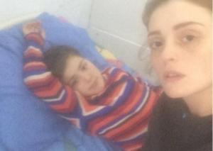 """განო მელითაურის შვილი საავადმყოფოშია - """"ილოცოს ყველამ, ვინც დამნაშავეა"""""""