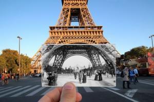 როგორ გამოიყურებოდა და როგორ გამოიყურება მსოფლიო დღეს - 20 ფოტო
