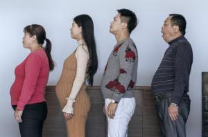 ერთმა ჩინურმა ოჯახმა ვარჯიში გადაწყვიტა... იხილეთ მათი ფოტოები 6 თვის შემდეგ