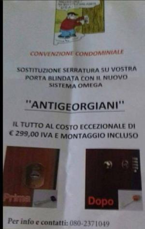 """იტალიაში """"ქართველებსაწინააღმდეგო"""" საკეტებს აყენებენ"""
