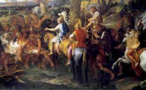 რომელი ორი გამოცდა გაიარა ალექსანდრე მაკედონელმა, ტახტზე რომ ასულიყო ?
