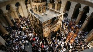პროტესტის გამო იერუსალიმში მაცხოვრის საფლავი და ტაძარი დაკეტეს