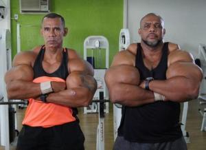 ბრაზილიელი ძმები ყველაზე დიდი კუნთებით
