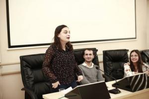 გახდი ინტერმედიელი   - ინტერმედიას   პრეზენტაცია საპატრიარქოს  ქართულ უნივერსიტეტში