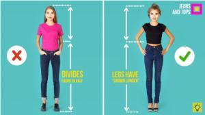 ტანსაცმლის სწორად შერჩევა - როგორ გამოვჩნდეთ მაღალი