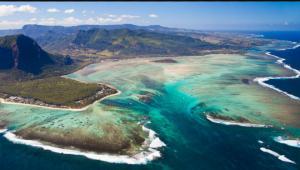 მავრიკის კუნძულზე წარმოქმნილი წყალქვეშა ჩანჩქერი - რეალობა თუ ოპტიკური ილუზია?