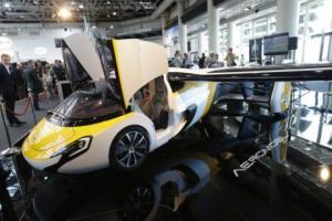 """იაპონელების ახალი ტექნოლოგია -  """" მფრინავი ავტომობილი """""""