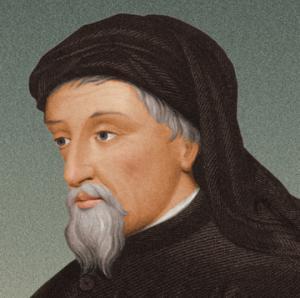 ვინ იყო  პირველი ავტორი, რომლის შემოქმედებაშიც გამოიკვეთა ინგლისური სალიტერატურო ენის ნორმები?