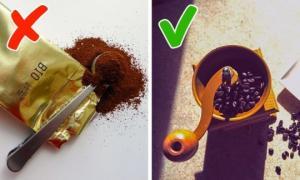 შეცდომები, რის გამოც, ყავა, გემრიელი არ გამოდის- დაიმახსოვრეთ!