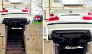 პარკირების საოცარი შემთხვევები- ანუ როგორ არუნდა დააყენოთ ავტომობილი