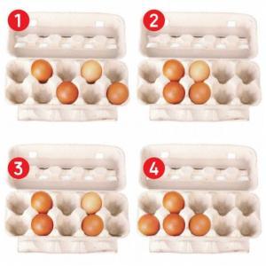 ტესტი: რომელი კვერცხები აწყვია სწორად? პასუხი გამოიცნობს თქვენს ძლიერ მხარეს