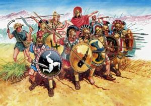 ძვ.წ. მე-4 საუკუნის მსოფლიოში მომხდარი ომების სრული სია
