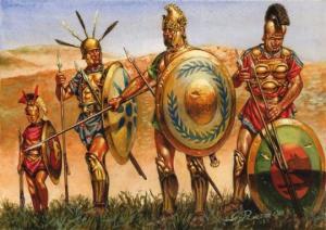 ძვ.წ. მე-3 საუკუნის მსოფლიოში მომხდარი ომების სრული სია