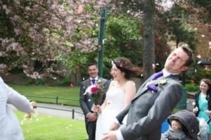 სახალისო სურათები ქორწილებიდან