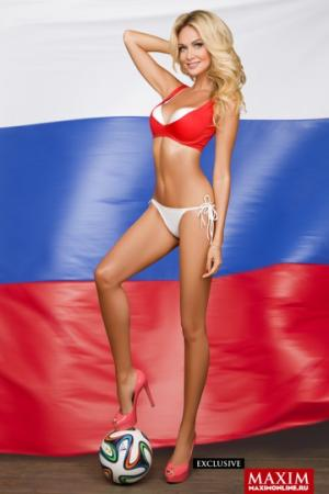 """ვიქტორია ლოპირევა - """"მის რუსეთი 2003"""", რომელიც მსოფლიო ჩემპიონატის ელჩია (+ ფოტო)"""