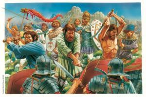 პირველი საუკუნის მსოფლიოში მომხდარი ომების სრული სია