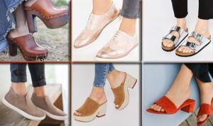 2018 წლის ზაფხულის ყველაზე მოდური ფეხსაცმელი