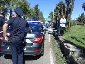 ავტოსაგზაო შემთხვევა ქობულეთში - 8 წლის ბავშვი პოლიციის მანქანამ გაიტანა