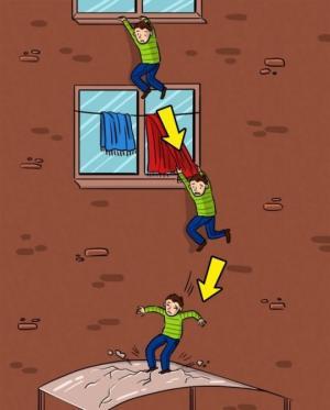 როგორ გადავრჩეთ,როცა სიმაღლიდან ვვარდებით