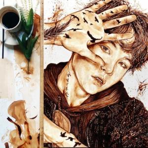 იხილეთ ყავით დახატული ულამაზესი ნამუშევრები