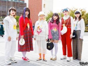 როგორი სამოსით დადის იაპონიის ქუჩებში ახალგაზრდობა
