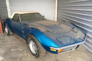 """უიშვიათესი სპორტკარი """"Chevrolet Corvette """" 45 წელი იდგა ავტოფარეხში მისი დასაზღვევი თანხის არქონის გამო"""