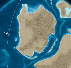 როგორ ყალიბდებოდა ჩრდილოეთ ამერიკის კონტინენტი ბოლო 550 მილიონი წლის განმავლობაში
