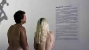 პარიზულმა მუზეუმმა ნუდისტებს უმასპინძლა