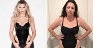 ავსტრალიელი ქალი რომელიც Instagram ზე ვარსკვლავების ფოტო პაროდიას იღებს