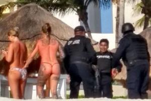 პოლიციელებმა ცდუნებას ვერ გაუძლეს